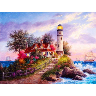 Paint by number kit with water, DTPI4254