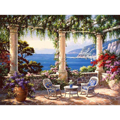 Paint by number kit with scenary, DTPI426